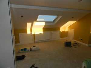 Hip To Gable With Flat Roof Rear Dormer In Leeds Akb